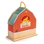 Tender Toys - Portable Farm Play Set Junior 18-Piece