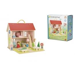 Tender Toys - Dockskåp Med Tillbehör Bärbart 18 Delar