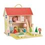 Tender Toys - Portable Play Set Dockskåp Junior 18-Piece