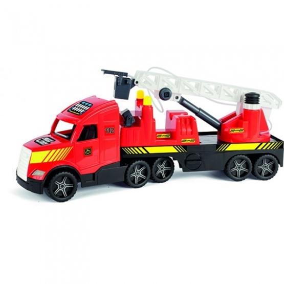 Wader - Brandbil 79 Cm Röd