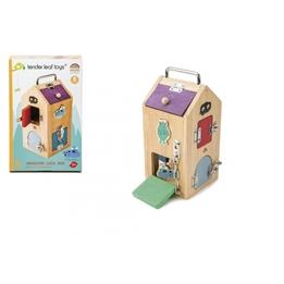 Tender Toys - Låslåda Med 8 Olika Lås