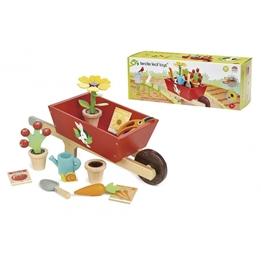 Tender Toys - Wheelbarrow With Garden Set Junior 31-Piece