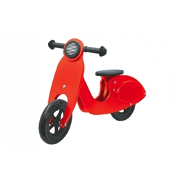 Jamara - Balanscykel - Loopfiets Junior Röd