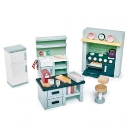 Tender Leaf Toys - Köksutrustning Till Dina Dockor 22 Delar