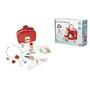 Tender Leaf Toys - Bag Doctor And Nurse Röd Wood 12-Piece