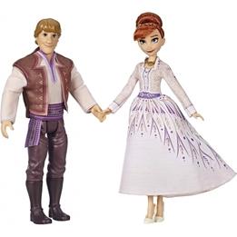 Hasbro - Figurer Från Frozen 2 Anna & Kristoff