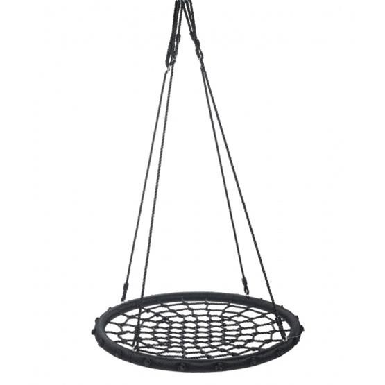 Swing King - Gunga - Nesting Swing 60 Cm Polyethylene Svart