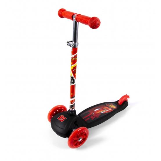 Disney - Sparkcykel - Cars Fotbroms Röd