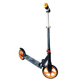 Muuwmi - Sparkcykel - Stuntstep Junior Fotbroms Grå/Orange