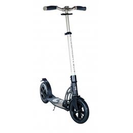 Six Degrees - Sparkcykel - Stuntstep Air Junior Fotbroms Svart