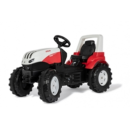 Rolly Toys - Steyr Pedal Tractor 108,5 X 52,5 X 65,5 Cm Svart
