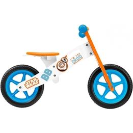 Disney - Balanscykel - Star Wars 12 Tum Junior Orange/Vit
