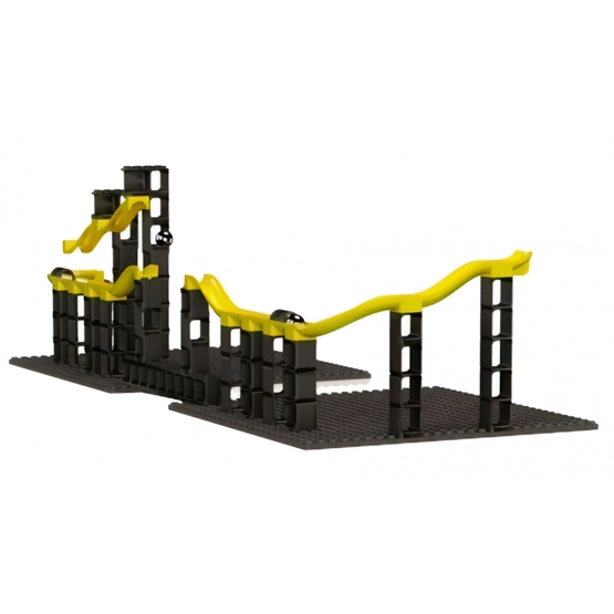 Hubelino - Marble Track Extension Set Guns 70-Piece