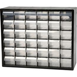 Raaco - Storage System Plastic 36 Drawers 33X40,7X14,1Cm