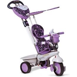 Smartrike - Barnvagn - Dream 4-In-1 Junior Lila/Grå