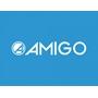 Amigo - Trampolin Med Säkerhetsnät - 139 Cm