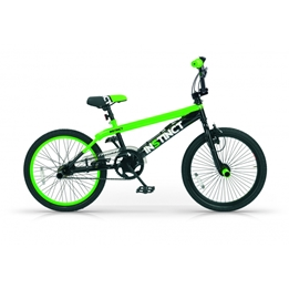 Mbm - BMX Cykel - Instinct 20 Tum Svart/Grön