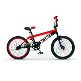 Mbm - BMX Cykel - Instinct 20 Tum Svart/Röd