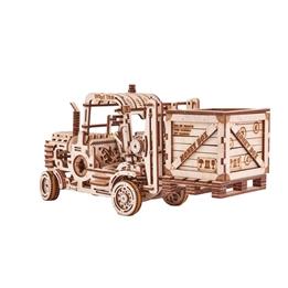 Wood Trick - Modelleksak Gaffeltruck Med Spargris