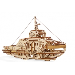 Ugears - Modellsats Båt