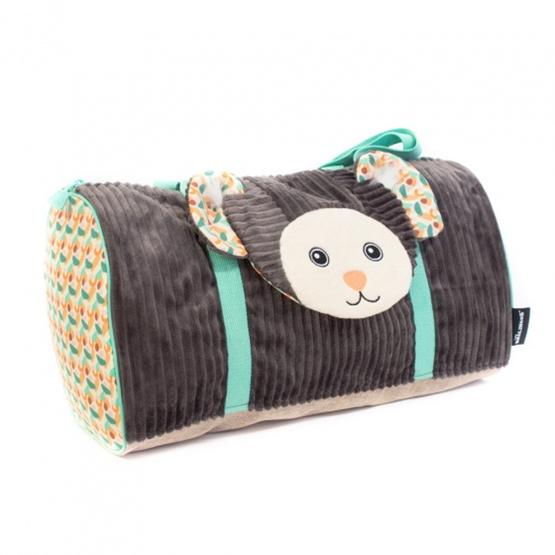 Les Deglingos - Väska Monkey Brun 45 Cm