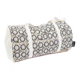 Les Deglingos - Väska Vit/Brun 45 Cm
