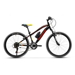Lombardo - Mountainbikes - Tropea 24 Tum 18 Växlar Svart/Röd