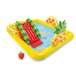 Intex - Fruit Play Pool 57158Np 244 X 191 X 91 Cm Pvc