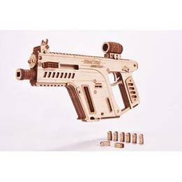 Wood Trick - Modelleksak Assault Rifle 158 Delar