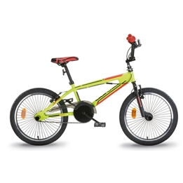 Aurelia - BMX Cykel - Freestyle 20 Tum Gul