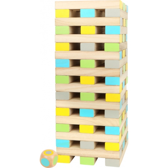 Legler - Wobble Tower Xxl Junior 70-100 Cm Wood 61-Piece