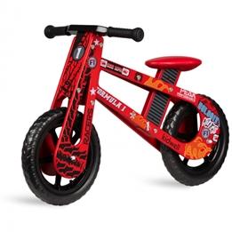 Kidwell - Balanscykel - Stark Formula 12 Tum Röd