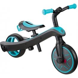 Globber - Trehjuling - Trike Explorter 2-In-1 Junior Blå/Svart