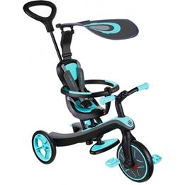 Globber - Trehjuling - Trike Explorer 4-In-1 Blå/Svart