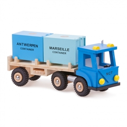 New Classic Toys - Lastbil Med Last