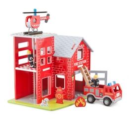 New Classic Toys - Brandstation Med Tillbehör