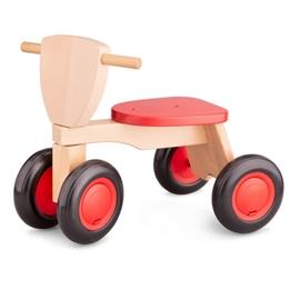 New Classic Toys - Sparkcykel - Road Star Röd/Brun