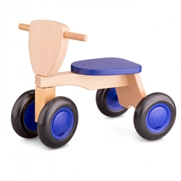 New Classic Toys - Balanscykel - 50 Cm Blå