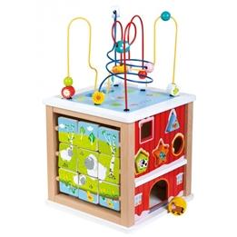 Lelin Toys - Aktivitetskub Farm