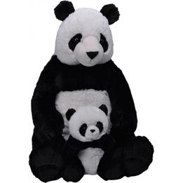 Wild Republic - Mjukisdjur Panda 58 Cm Svart/Vit 2 Delar