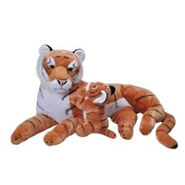 Wild Republic - Mjukisdjur Tiger 76 Cm Orange/Vit 2 Stycken