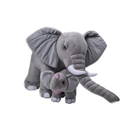 Wild Republic - Mjukisdjur Elefant 40 Cm Grå 2 Stycken