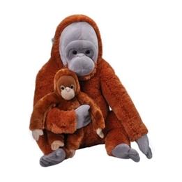 Wild Republic - Mjukisdjur Orangutan 76 Cm 2 Stycken