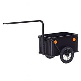 Roland - Cykelvagn / Lastvagn - Mini Boy Cykelvagn / Lastvagnvagn 12 Tum Svart
