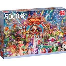 Jumbo - Pussel - A Night At The Circus - 5000 Bitar