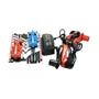 Powerplus - Construction Kit Mustang Boys Röd/Blå 5-Piece