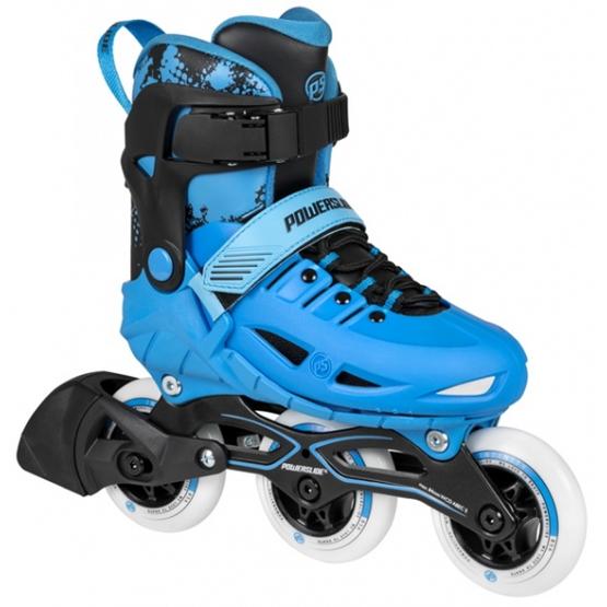 Powerslide - Inline Skates Phuzion Junior Svart/Blå