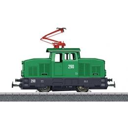 Marklin - Tåg Startkitt Elektriskt Lok 10.5 Cm Grön/Svart