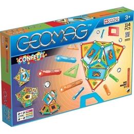 Geomag - Building Set Confetti 114-Piece