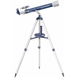 Bresser - Teleskop Junior 69 Cm Aluminium Blå/Grå 12-Piece